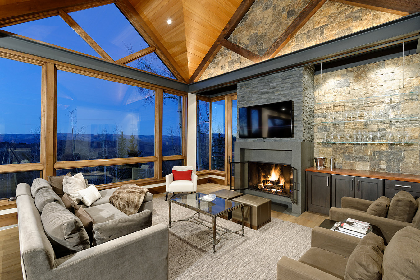 Aspen Snowmass Basalt interior photography